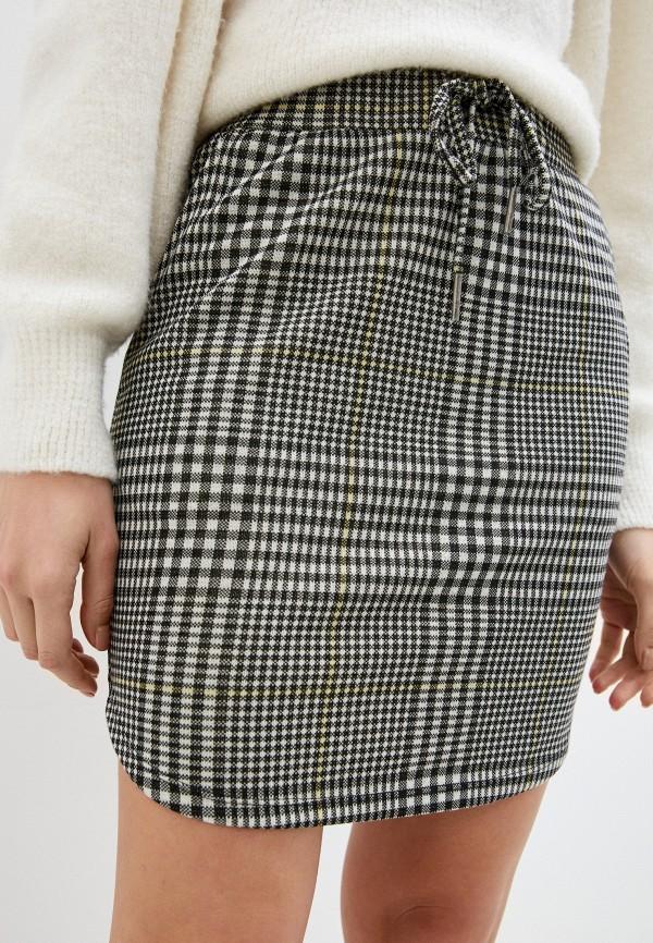женская прямые юбка stitch & soul, разноцветная