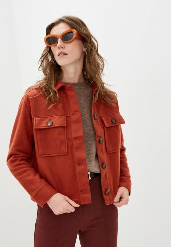 женское пальто stitch & soul, коричневое