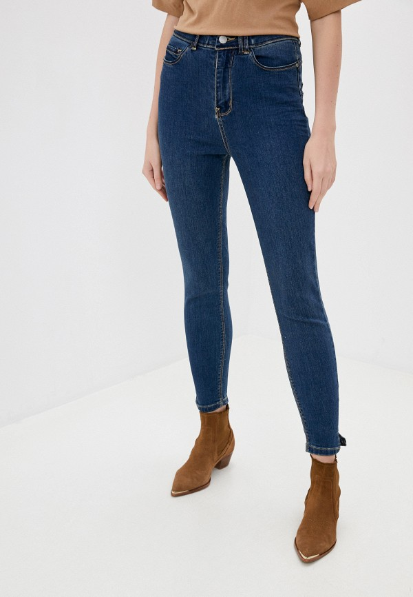 женские джинсы stitch & soul, синие