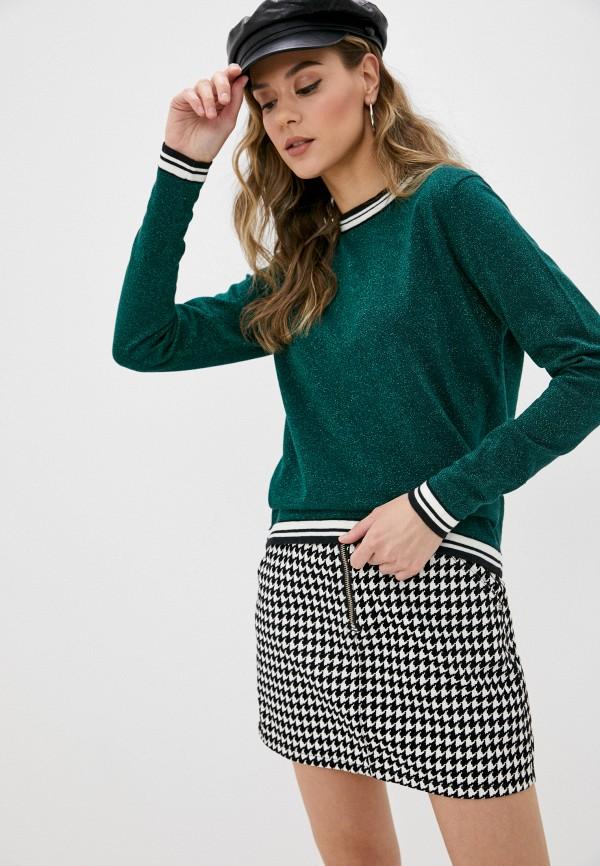 женский джемпер stitch & soul, зеленый
