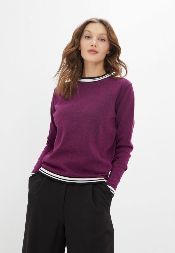 женский джемпер stitch & soul, фиолетовый