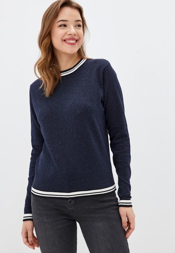 женский свитер stitch & soul, синий