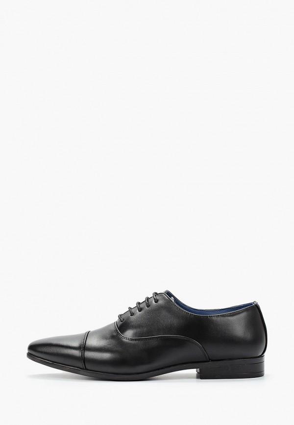 мужские туфли style italy, черные