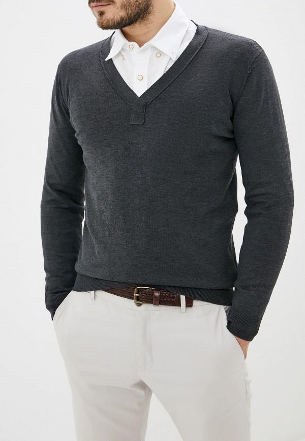 мужской пуловер stormy life, серый