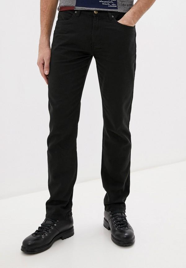 мужские зауженные джинсы stormy life, черные