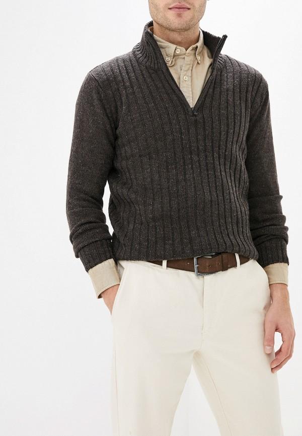 мужской свитер stormy life, коричневый