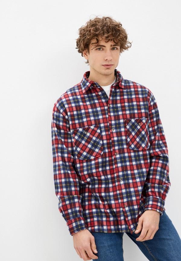 мужская рубашка с длинным рукавом stormy life, разноцветная