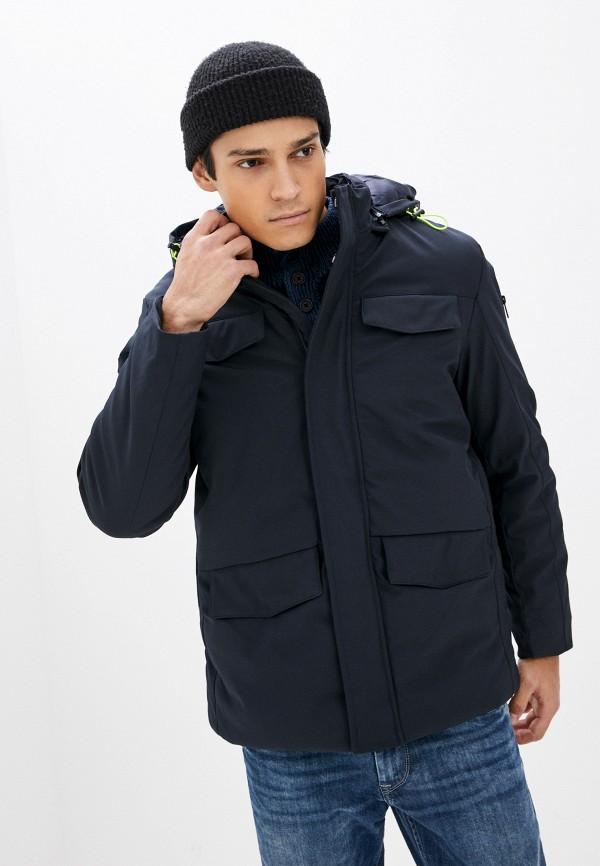 мужская куртка stormy life, синяя