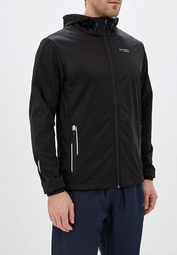 мужская куртка stooker, черная