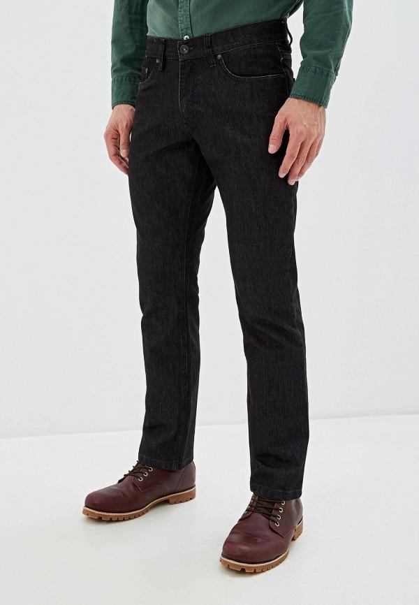 мужские прямые джинсы stooker, черные