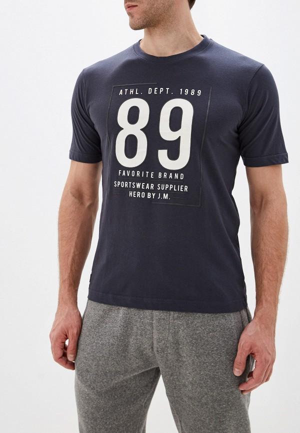 мужская футболка с коротким рукавом stooker, серая