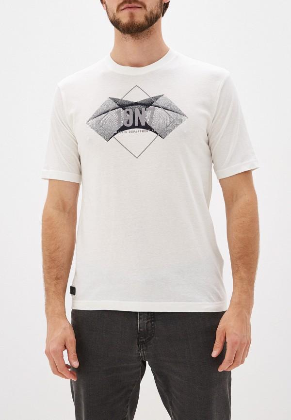 мужская футболка с коротким рукавом stooker, белая