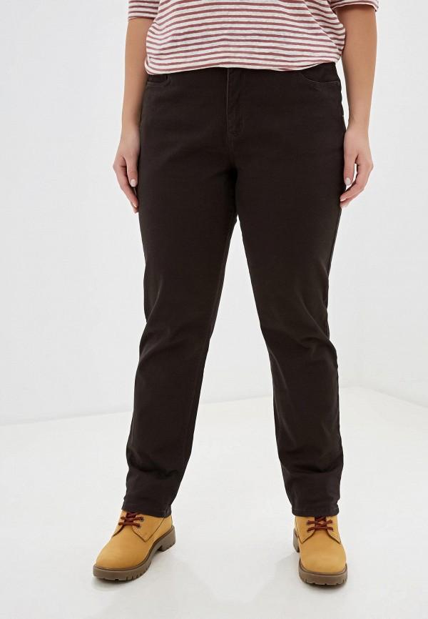 женские повседневные брюки stooker, коричневые
