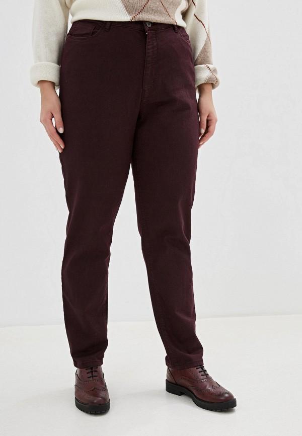 женские повседневные брюки stooker, бордовые