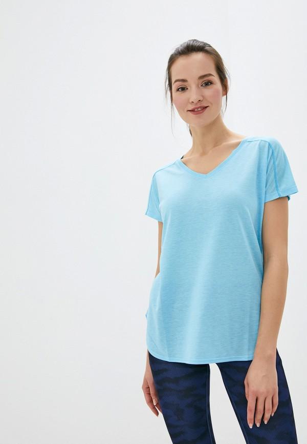женская футболка stooker, голубая