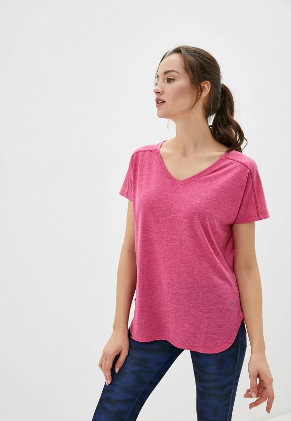 женская футболка stooker, розовая
