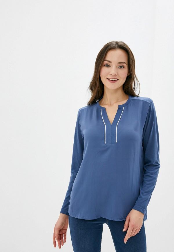 женская блузка stooker, синяя