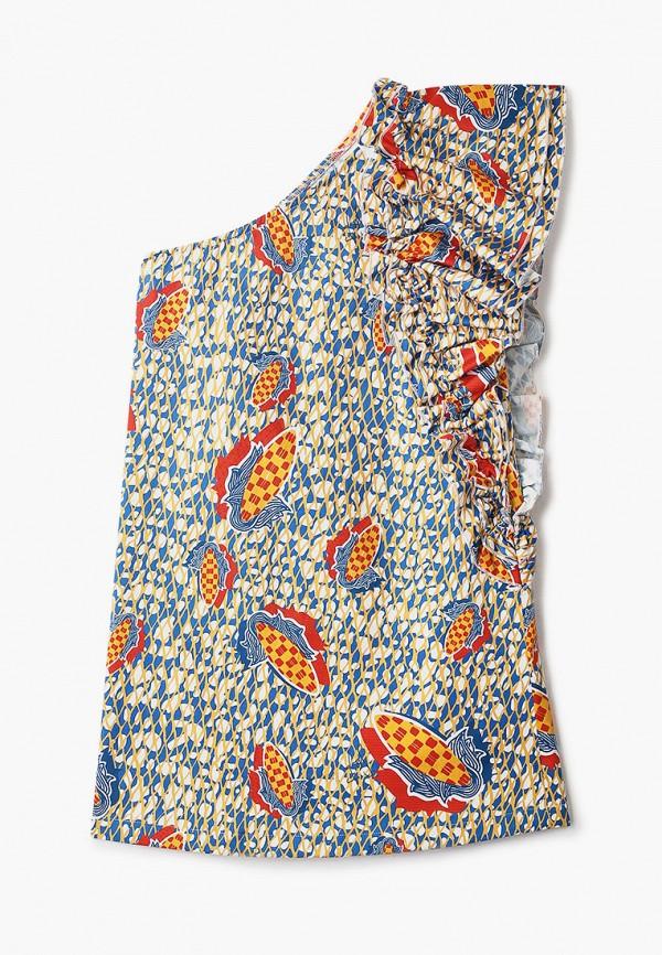 повседневные платье stella jean kids для девочки, разноцветное