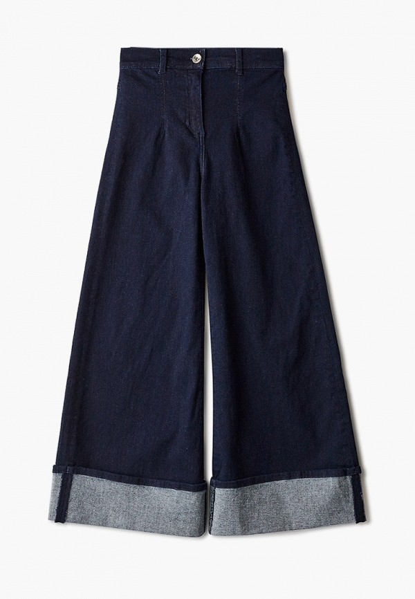 джинсы stella jean kids для девочки, синие