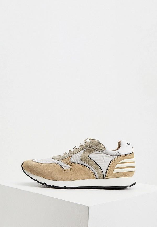 мужские кроссовки voile blanche, бежевые