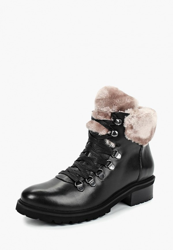 женские ботинки steve madden, черные
