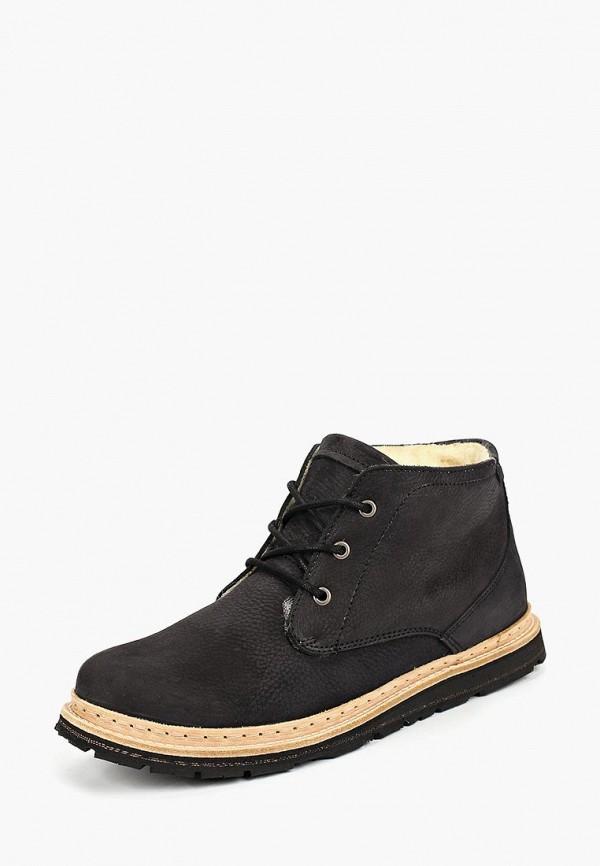 мужские ботинки storm, черные