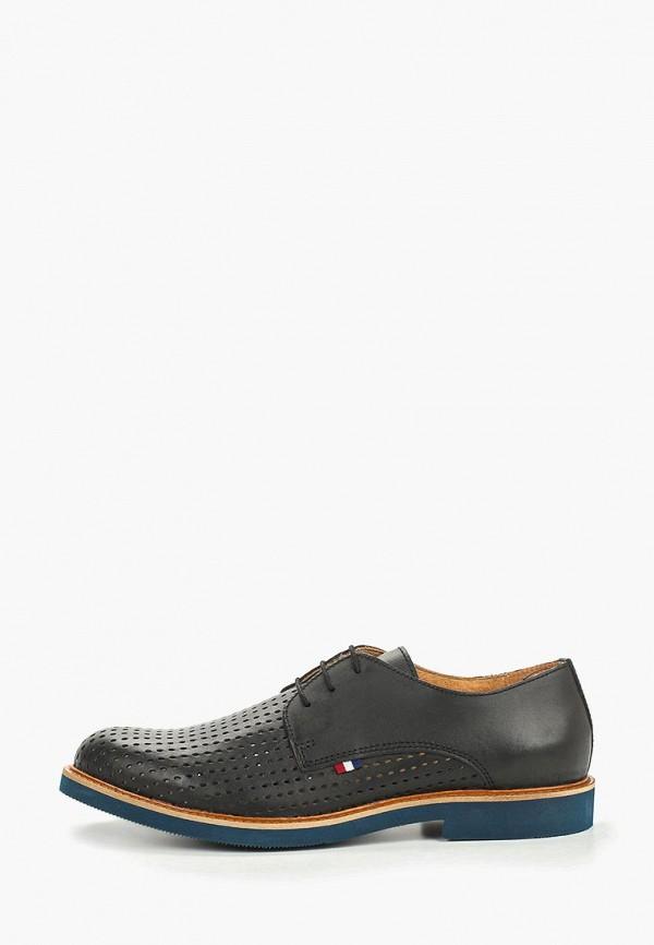 мужские туфли storm, черные