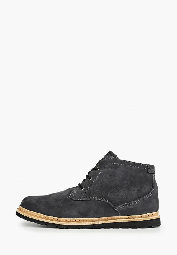 мужские ботинки storm, серебряные