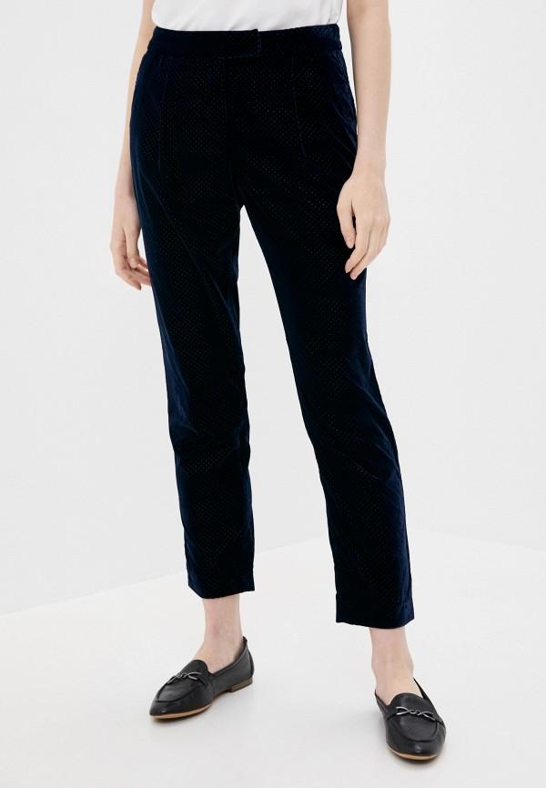 женские повседневные брюки stefanel, синие