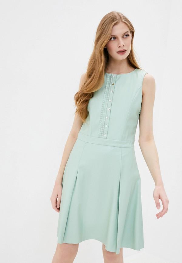 женское платье stefanel, бирюзовое