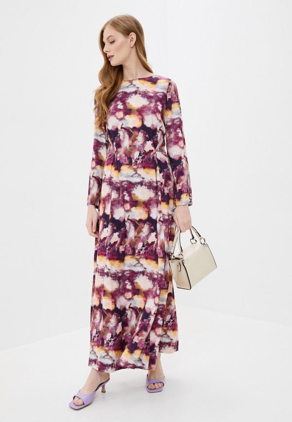 женское повседневные платье stefanel, фиолетовое