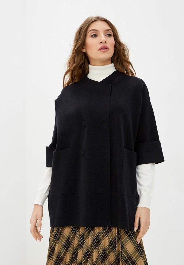 женский кардиган stefanel, черный
