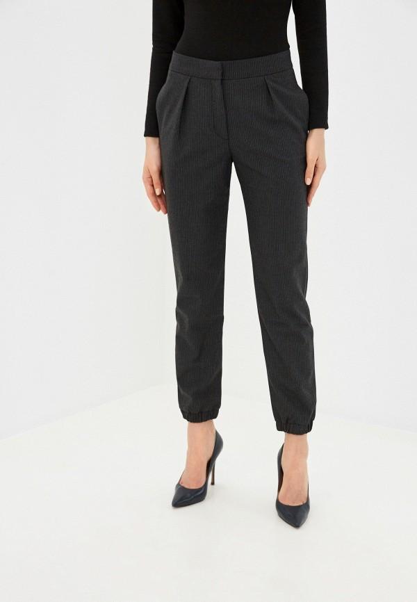 женские классические брюки stefanel, черные