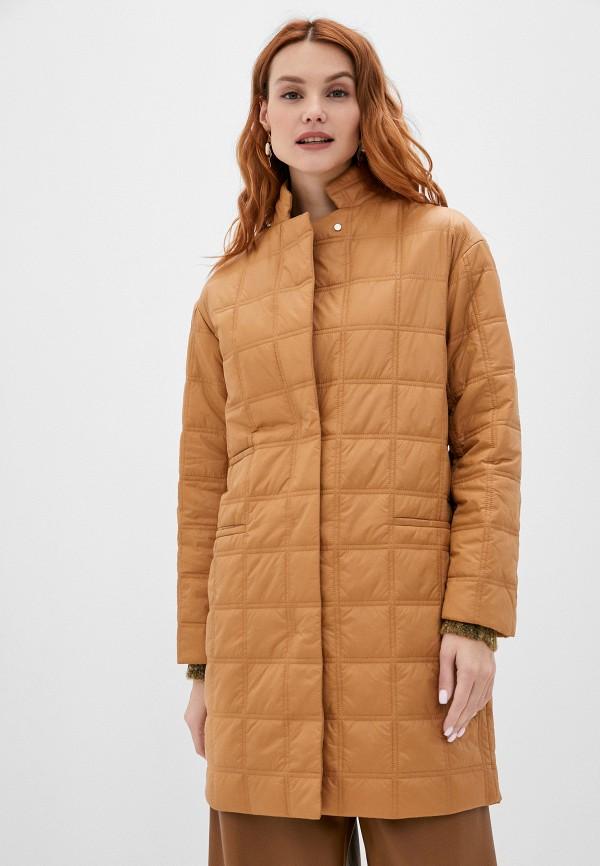 женская куртка stefanel, бежевая