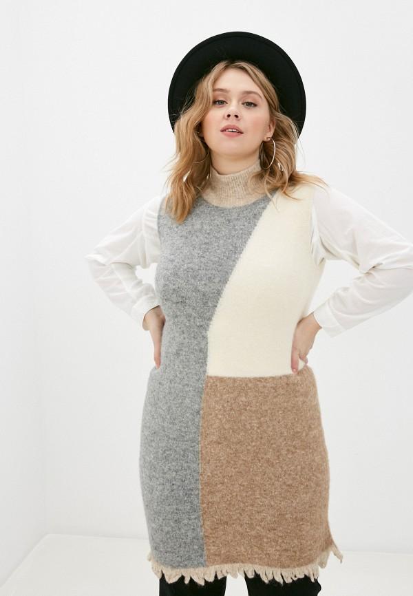 женское платье stefanel, разноцветное