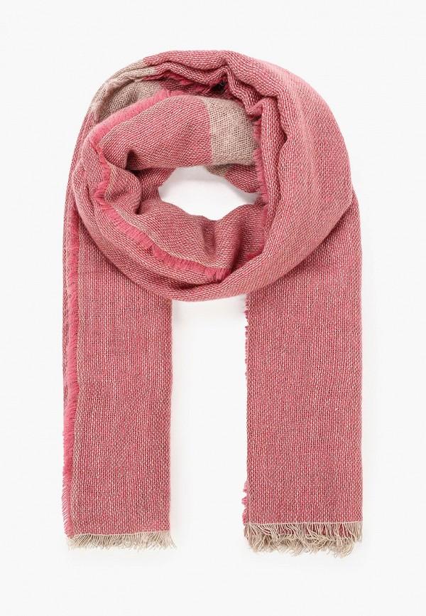 женский палантин stefanel, розовый
