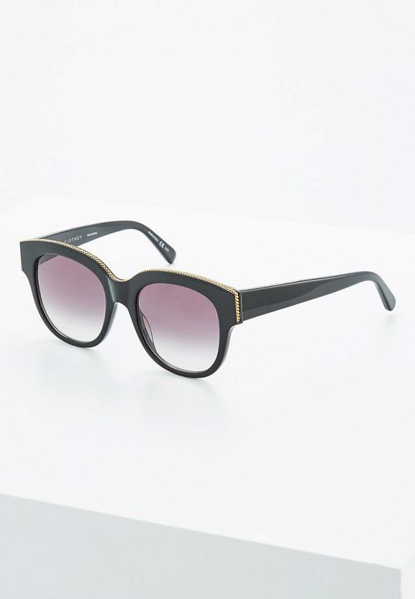 мужские солнцезащитные очки stella mccartney, черные