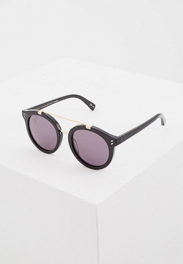 женские солнцезащитные очки stella mccartney, черные