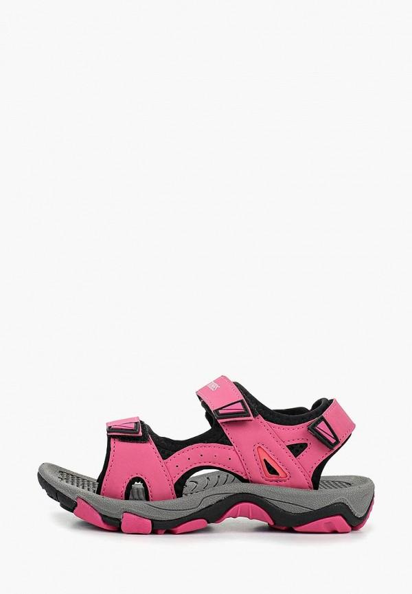 сандалии strobbs для девочки, розовые