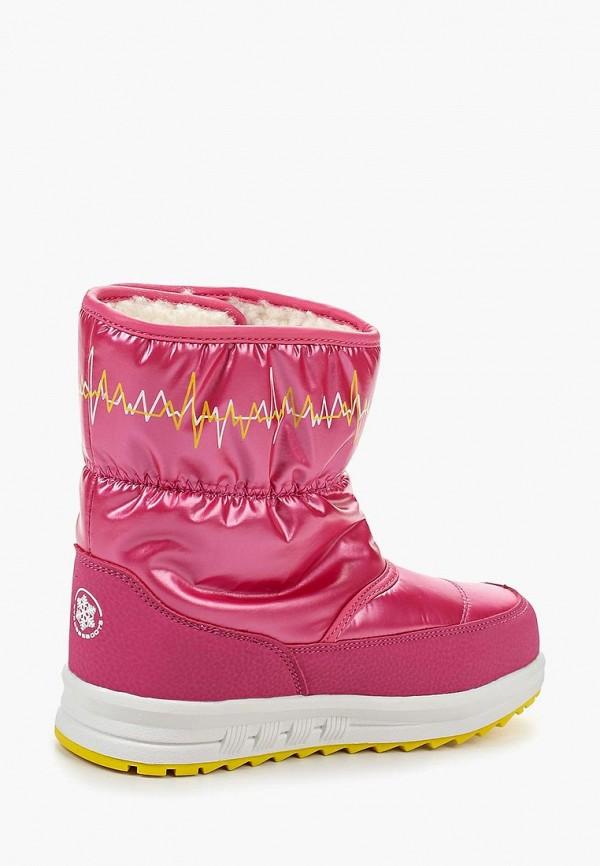 Фото 2 - Дутики Strobbs розового цвета