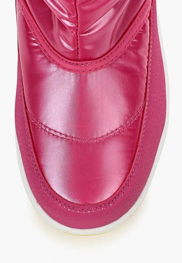 Фото 4 - Дутики Strobbs розового цвета