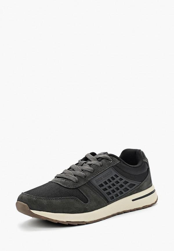 Купить мужские кроссовки Strobbs серого цвета
