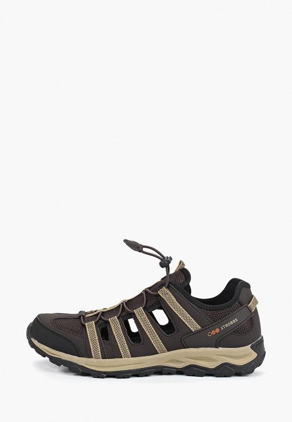 мужские кроссовки strobbs, коричневые