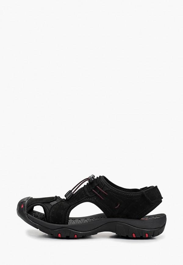 мужские сандалии strobbs, черные