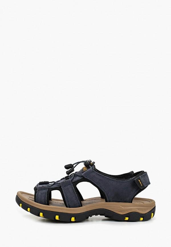 мужские сандалии strobbs, синие