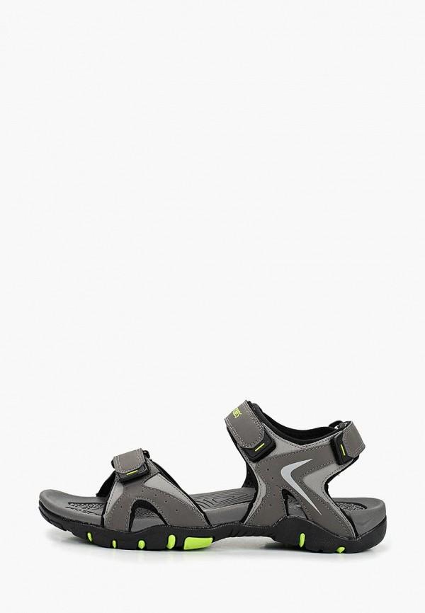 мужские сандалии strobbs, серые