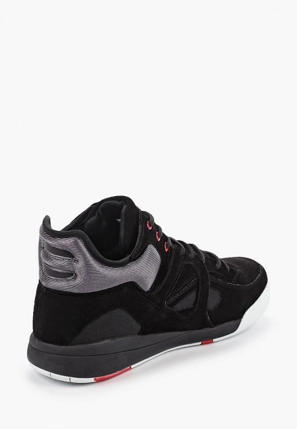 Фото 3 - мужские кроссовки Strobbs черного цвета