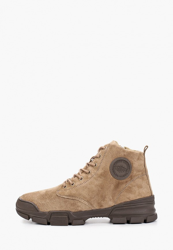мужские ботинки strobbs, бежевые