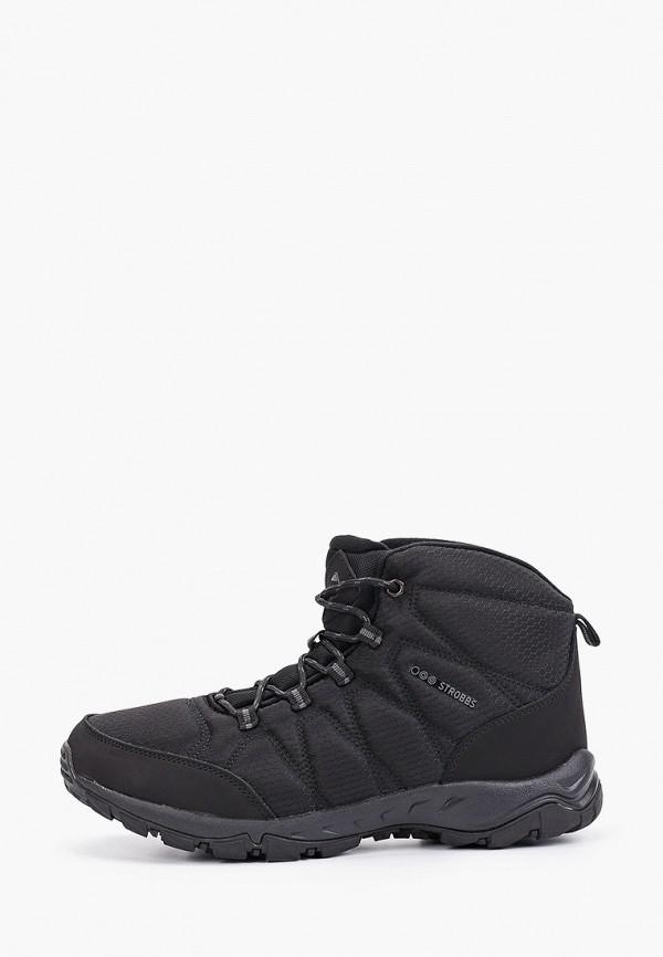 мужские ботинки strobbs, черные