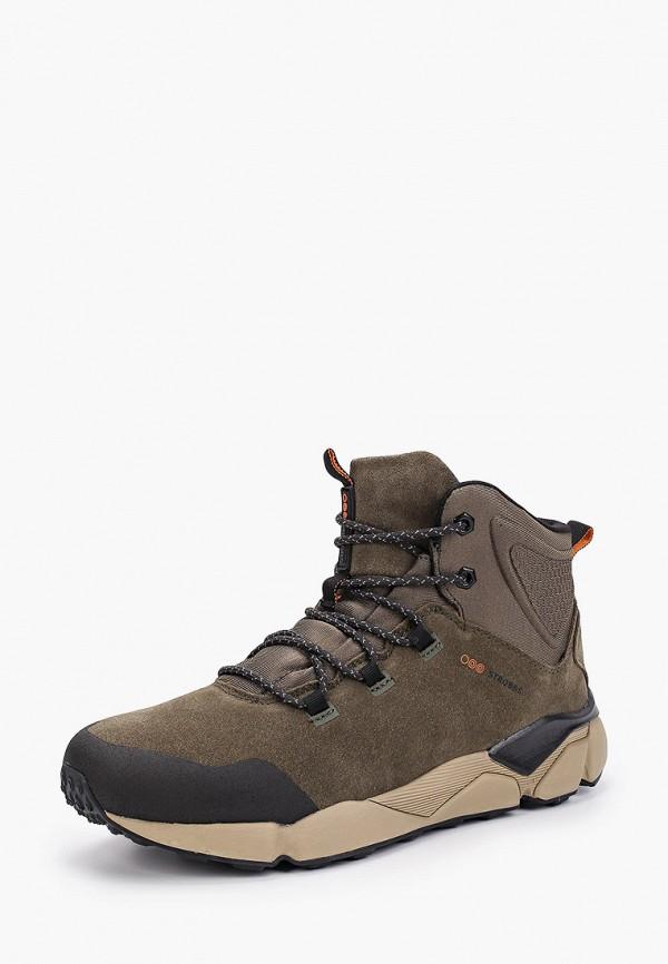 Фото 2 - мужские ботинки и полуботинки Strobbs цвета хаки